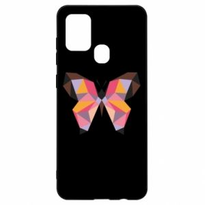 Etui na Samsung A21s Butterfly graphics