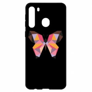 Etui na Samsung A21 Butterfly graphics