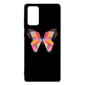 Etui na Samsung Note 20 Butterfly graphics