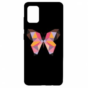 Etui na Samsung A51 Butterfly graphics