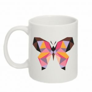 Kubek 330ml Butterfly graphics