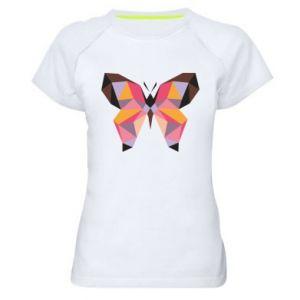 Women's sports t-shirt Butterfly graphics - PrintSalon