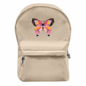 Backpack with front pocket Butterfly graphics - PrintSalon