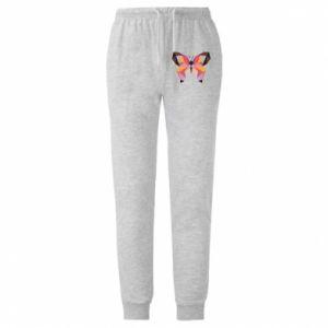 Męskie spodnie lekkie Butterfly graphics - PrintSalon