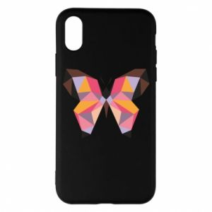Phone case for iPhone X/Xs Butterfly graphics - PrintSalon