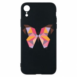 Phone case for iPhone XR Butterfly graphics - PrintSalon