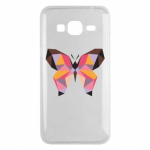 Phone case for Samsung J3 2016 Butterfly graphics - PrintSalon