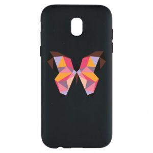 Phone case for Samsung J5 2017 Butterfly graphics - PrintSalon