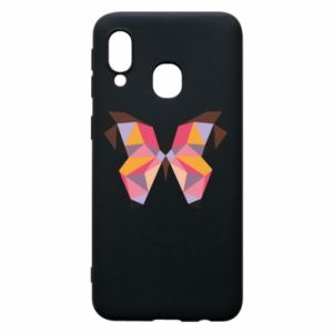 Phone case for Samsung A40 Butterfly graphics - PrintSalon
