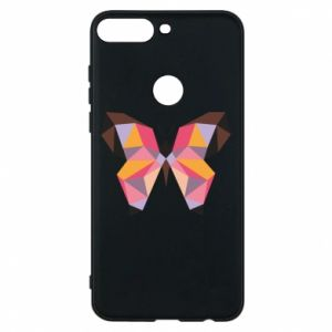 Phone case for Huawei Y7 Prime 2018 Butterfly graphics - PrintSalon