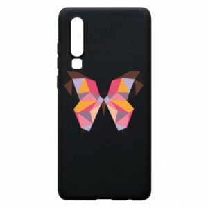 Phone case for Huawei P30 Butterfly graphics - PrintSalon