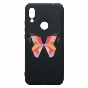 Phone case for Xiaomi Redmi 7 Butterfly graphics - PrintSalon