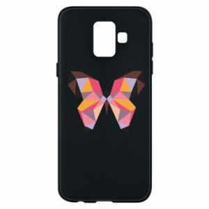 Phone case for Samsung A6 2018 Butterfly graphics - PrintSalon