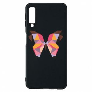 Phone case for Samsung A7 2018 Butterfly graphics - PrintSalon