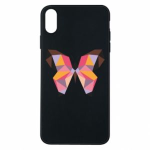 Etui na iPhone Xs Max Butterfly graphics