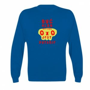 Kid's sweatshirt To be or not to be