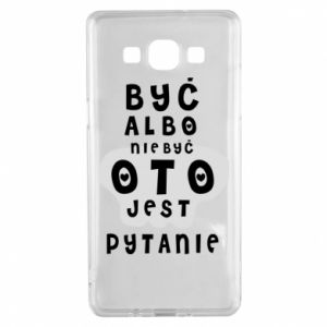 Samsung A5 2015 Case To be or not to be