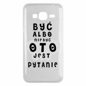 Phone case for Samsung J3 2016 To be or not to be