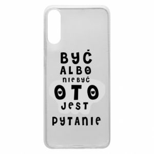 Phone case for Samsung A70 To be or not to be