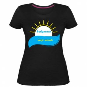 Damska premium koszulka Bydgoszcz to moje miasto - PrintSalon