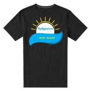 Męska premium koszulka Bydgoszcz to moje miasto - PrintSalon