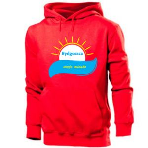 Men's hoodie Bydgoszcz this is my city