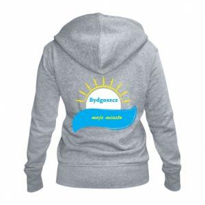 Women's zip up hoodies Bydgoszcz this is my city