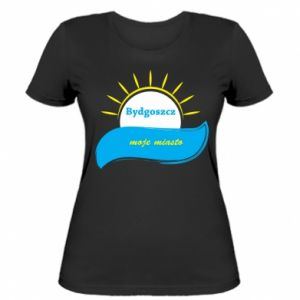 Women's t-shirt Bydgoszcz this is my city