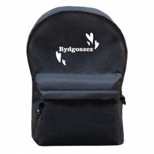 Backpack with front pocket Bydgoszcz