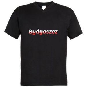 Męska koszulka V-neck Bydgoszcz
