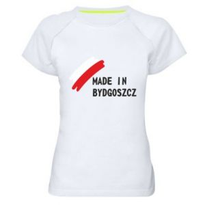 Women's sports t-shirt Made in Bydgoszcz