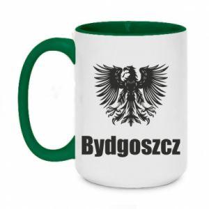 Kubek dwukolorowy 450ml Bydgoszcz