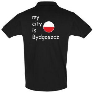 Koszulka Polo My city is Bydgoszcz