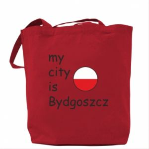 Bag My city is Bydgoszcz