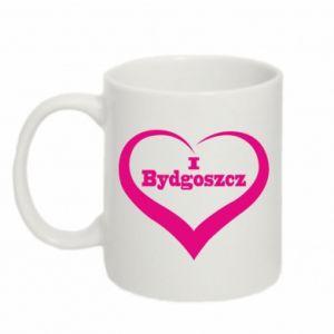 Kubek 330ml I love Bydgoszcz - PrintSalon