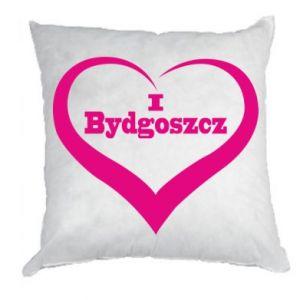 Poduszka I love Bydgoszcz - PrintSalon