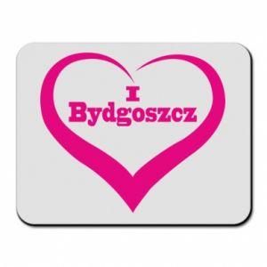 Podkładka pod mysz I love Bydgoszcz - PrintSalon