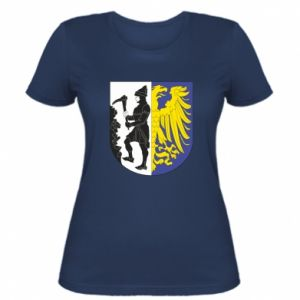 Women's t-shirt Bytom coat of arms