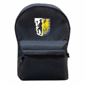 Plecak z przednią kieszenią Bytom herb
