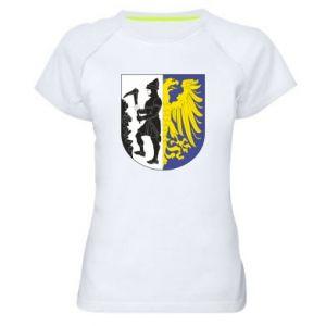 Koszulka sportowa damska Bytom herb