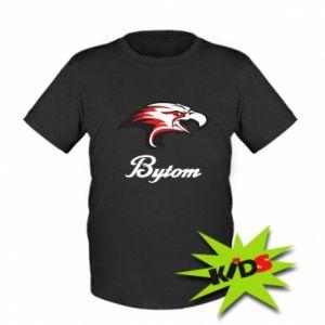 Koszulka dziecięca Bytom orzeł trójkolorowy