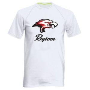 Koszulka sportowa męska Bytom orzeł trójkolorowy