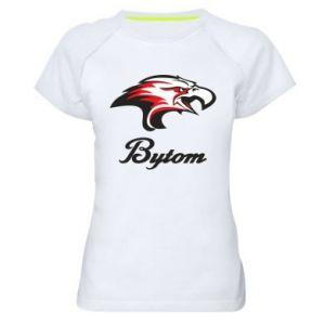 Koszulka sportowa damska Bytom orzeł trójkolorowy