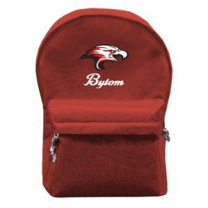 Plecak z przednią kieszenią Bytom orzeł trójkolorowy
