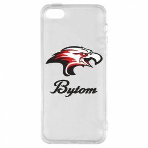 Etui na iPhone 5/5S/SE Bytom orzeł trójkolorowy