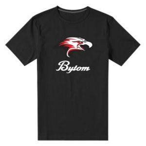 Męska premium koszulka Bytom orzeł trójkolorowy