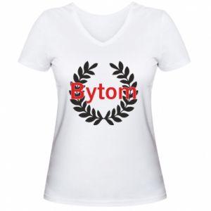 Damska koszulka V-neck Bytom