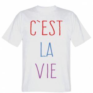 Koszulka C'est la vie
