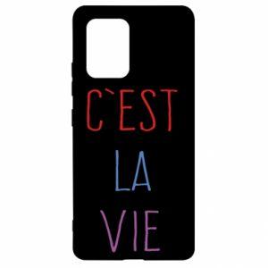 Samsung S10 Lite Case C'est la vie