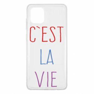 Samsung Note 10 Lite Case C'est la vie